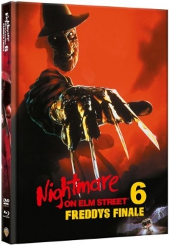 Nightmare on Elm Street 6 - Freddys Finale - Uncut Mediabook Edition  (DVD+blu-ray)
