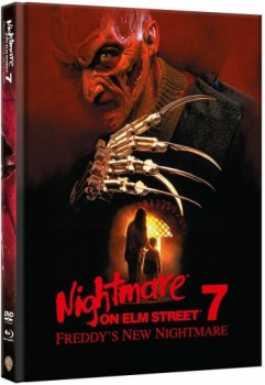 Nightmare on Elm Street 7 - Freddys New Nightmare - Uncut Mediabook Edition  (DVD+blu-ray)