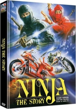 Ninja - The Story - Uncut Mediabook Edition  (A)