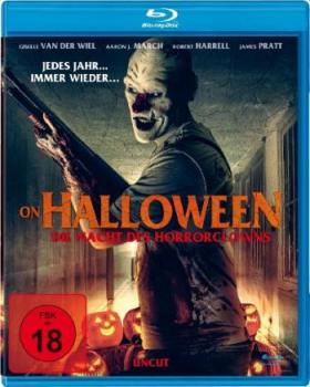 On Halloween - Die Nacht des Horrorclowns (blu-ray)