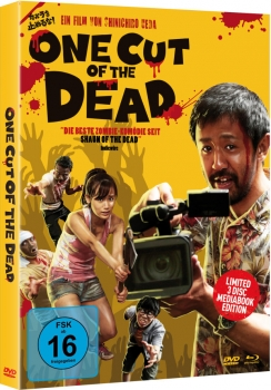 One Cut of the Dead - Uncut Mediabook Edition  (DVD+blu-ray) (B)