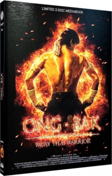 ONG-BAK - Muay Thai Warrior - Uncut Mediabook Edition  (DVD-blu-ray) (A)