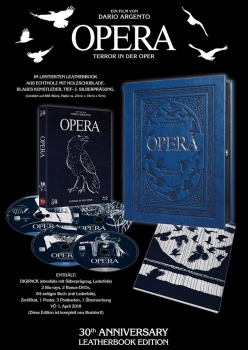 Opera - Uncut Leatherbook Edition  (blu-ray)