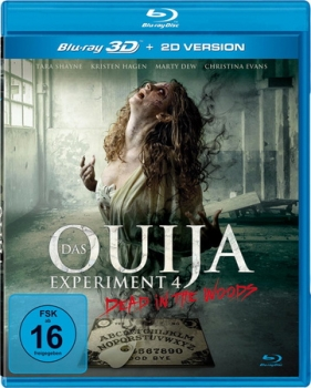 Ouija Experiment 4 - Dead in the Woods 3D  (3D blu-ray)