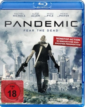 Pandemic - Fear the Dead - Uncut Edition  (blu-ray)