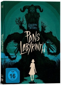 Pans Labyrinth - Limited Mediabook Edition  (DVD+blu-ray)