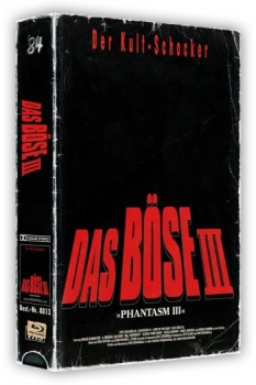 Phantasm 3 - Das Böse 3 - Uncut VHS Design Edition  (DVD+blu-ray)