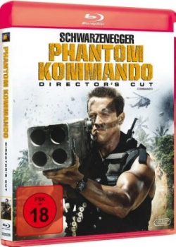 Phantom Kommando - Director's Cut  (blu-ray)