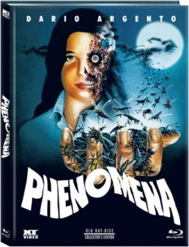 Phenomena - Uncut Mediabook Edition  (blu-ray) (D)