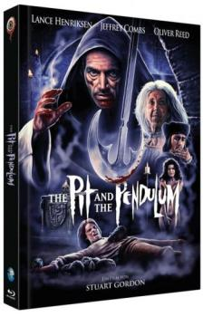 Pit and the Pendelum, The - Uncut Mediabook Edition  (blu-ray) (B)