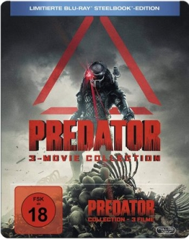Predator Collection - Uncut Steelbook Edition  (blu-ray)