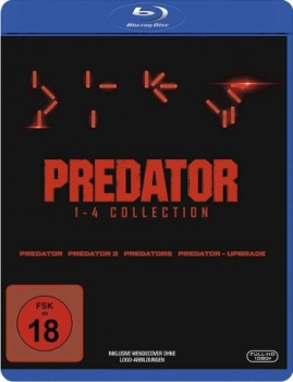 Predator 1-4 - Box (blu-ray)