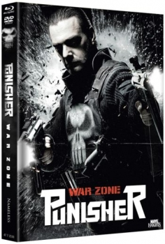 Punisher: War Zone - Uncut Mediabook Edition  (DVD+blu-ray) (B)