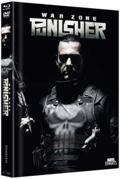 Punisher: War Zone - Uncut Mediabook Edition  (DVD+blu-ray) (D)