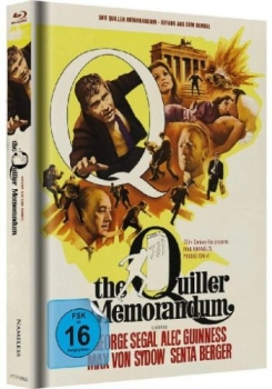 Quiller Memorandum, The - Limited Mediabook Edition  (blu-ray) (Cover weiß/gelb)