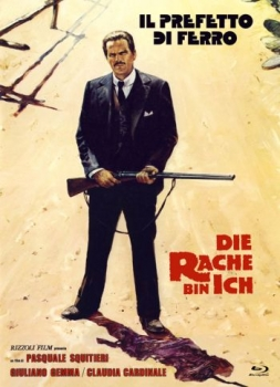 Rache bin ich, Die - Eurocult Mediabook Collection  (DVD+blu-ray) (A)