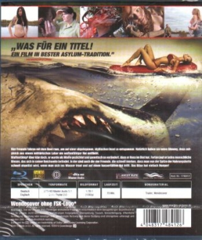 Raiders of the Lost Shark  (blu-ray)