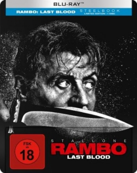 Rambo - Last Blood - Uncut Steelbook Edition  (blu-ray)