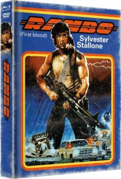 Rambo - First Blood - Uncut Mediabook Edition (DVD+blu-ray) (A)