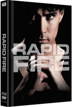 Rapid Fire - Uncut Mediabook Edition  (DVD+blu-ray) (Cover Black)