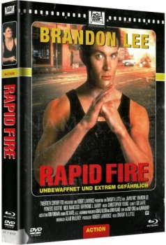 Rapid Fire - Uncut Mediabook Edition  (DVD+blu-ray) (Cover Retro)