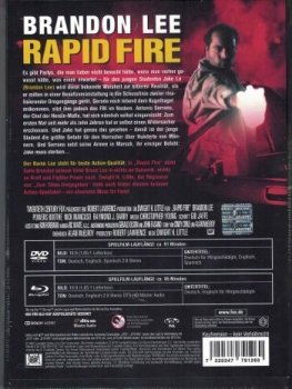 Rapid Fire - Uncut Mediabook Edition  (DVD+blu-ray) (Cover Original)