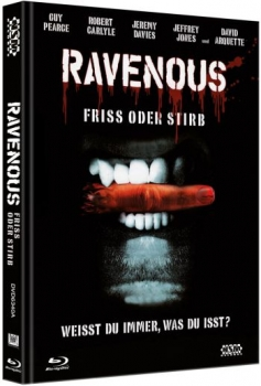 Ravenous - Friss oder Stirb - Uncut Mediabook Edition  (DVD+blu-ray) (A)