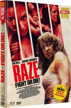 Raze - Fight or Die! - Uncut Mediabook Edition  (DVD+blu-ray)