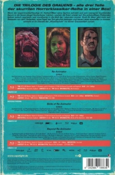 Re-Animator 1-3 - Limited Collectors Edition im VHS-Design  (blu-ray)