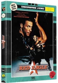 Red Eagle - VHS Design Edition - Uncut Mediabook Edition (DVD+blu-ray)