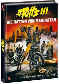 Riffs 3, The - Die Ratten von Manhattan - Uncut Mediabook Edition  (DVD+blu-ray) (A)