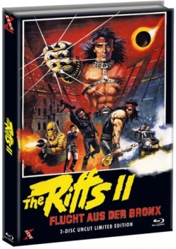 Riffs 2, The - Flucht aus der Bronx - Uncut Mediabook Edition  (DVD+blu-ray) (A)
