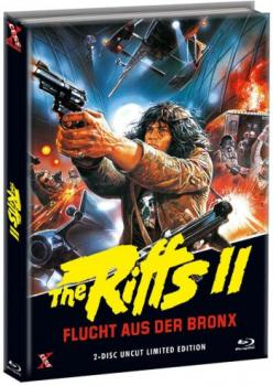 Riffs 2, The - Flucht aus der Bronx - Uncut Mediabook Edition  (DVD+blu-ray) (B)