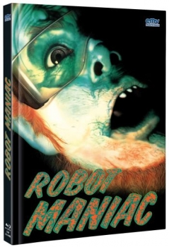 Robot Maniac - Death Warmed Up - Uncut Mediabook Edition  (DVD+blu-ray) (A)