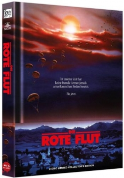 Rote Flut, Die - The Red Dawn - Uncut Mediabook Edition  (DVD+blu-ray)
