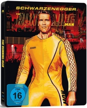 Running Man - Uncut Steelbook Edition  (blu-ray)