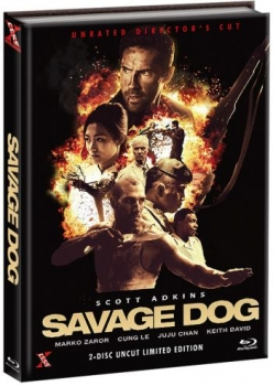 Savage Dog - Unrated Directors Cut Mediabook Edition  (DVD+blu-ray) (A)