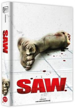 Saw - Directors Cut Mediabook Edition  (DVD+blu-ray) (A)
