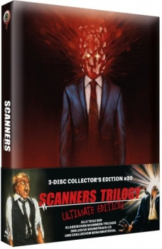 Scanners Trilogy - Ultimate Edition  (blu-ray)