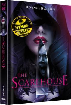 Scarehouse, The - Uncut Mediabook Edition  (DVD+blu-ray) (Cover Purple)