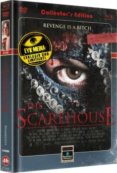 Scarehouse, The - Uncut Mediabook Edition  (DVD+blu-ray) (Cover Retro)