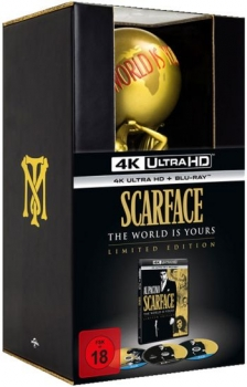 Scarface - The World is Yours Edition  (blu-ray+4K Ultra HD)