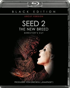 Seed 2 - The New Breed - Directors Cut - Uncut Black Edition  (blu-ray)