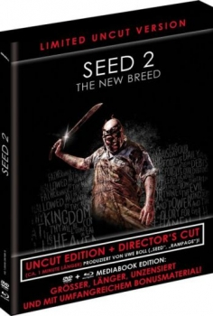 Seed 2 - The New Breed - Directors Cut - Black Mediabook Edition  (DVD+blu-ray)