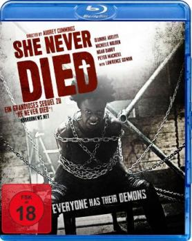 She never died - Uncut Edition  (blu-ray)
