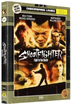 Shootfighter - VHS Design Edition - Uncut Mediabook Edition (DVD+blu-ray)