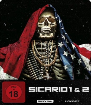 Sicario 1+2 - Limited Steelbook Edition (blu-ray)