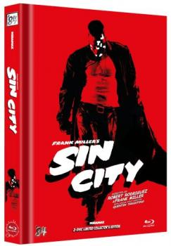 Sin City - Uncut Mediabook Edition  (blu-ray) (B)