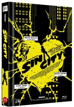 Sin City - Uncut Mediabook Edition  (blu-ray) (D)
