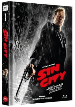 Sin City - Uncut Mediabook Edition  (blu-ray) (F)
